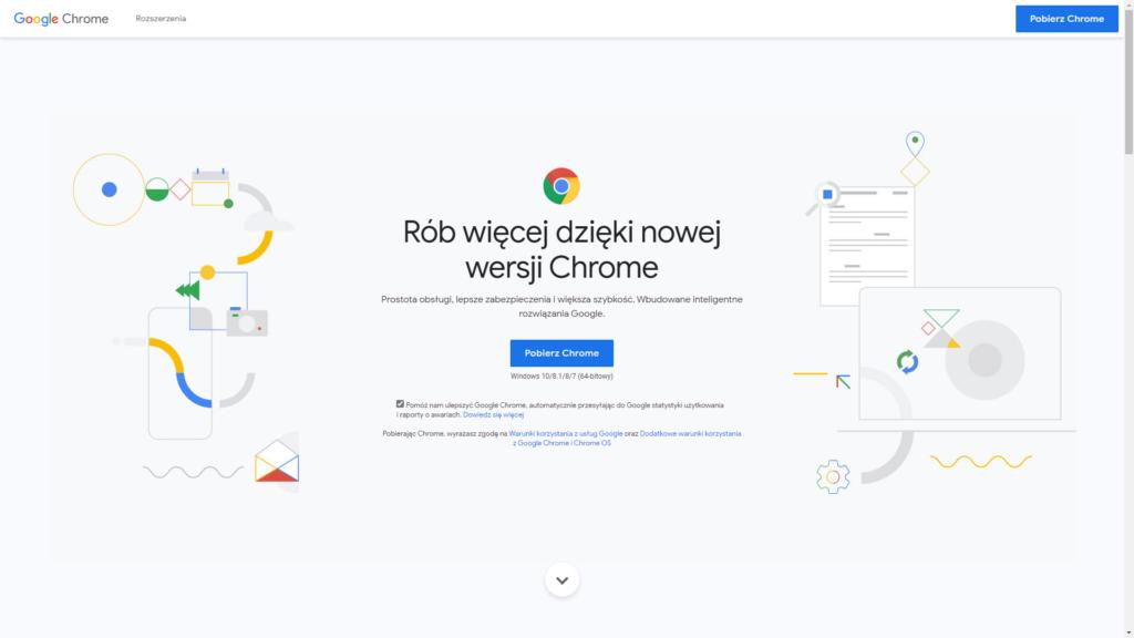 Co zainstalować po formacie? - Google Chrome
