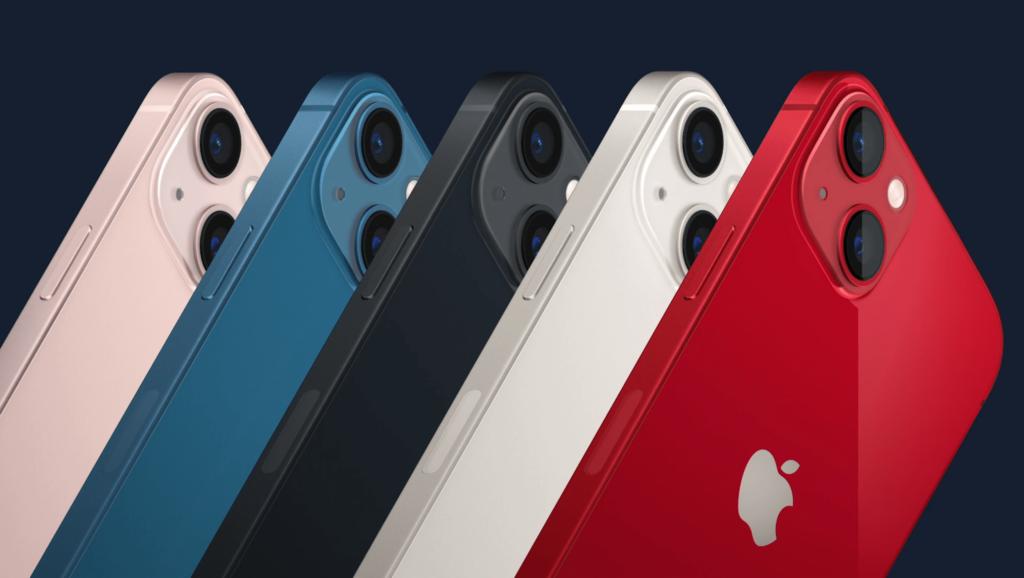 dostępne kolory iPhone 13